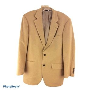 Brooks Brothers  Loro PIANA camel BLAZER 40 Jacket